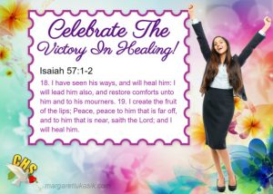 Read more about the article There Is Victory In Healing